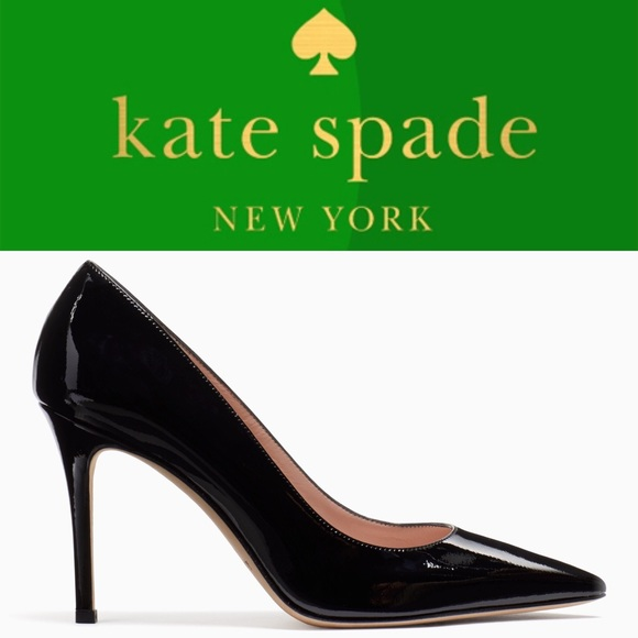 d7ad968fa29b Kate Spade Vivian black patent Heels Pumps shoes